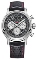 Chopard Classic Racing Mille Miglia Grey Dial Black Leather Limited Edition Men's Watch 168589-3006
