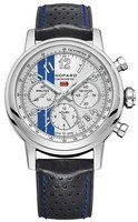 Chopard Classic Racing Mille Miglia White Dial Black Leather Limited Edition Men's Watch 168589-3021