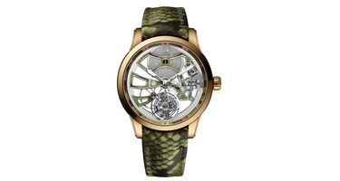 Ulysse Nardin Classic Skeleton Tourbillon  Men's Watch 1706-129/08