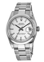 Rolex Datejust 31  White Dial Stainless Steel Women's Watch 178240-WHIO-PO