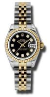 Rolex Datejust 26   Women's Watch 179173-BKDJ