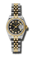 Rolex Datejust 26   Women's Watch 179173-BKJDJ