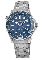 Omega Seamaster Diver 300 M Automatic 42mm Blue Dial Steel Men's Watch 210.30.42.20.03.001