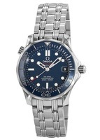 Omega Seamaster  Blue Dial Stainless Steel Unisex Watch 212.30.36.20.03.001