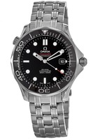 Omega Seamaster Diver 300 M Automatic Co-Axial 41mm Black Dial Men's Watch 212.30.41.20.01.003