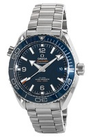 Omega Seamaster Planet Ocean 600M 43.5mm Blue Stainless Steel Men's Watch 215.30.44.21.03.001