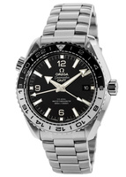 Omega Seamaster Planet Ocean 600M GMT Black Dial Stainless Steel Men's Watch 215.30.44.22.01.001