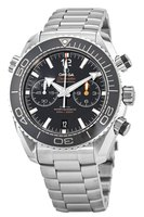 Omega Seamaster Planet Ocean 600M Chronograph 45.5mm Black Dial Stainless Steel Men's Watch 215.30.46.51.01.001