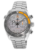 Omega Seamaster Planet Ocean 600M Chronograph 45.5mm Co-Axial Master Chronometer Grey Dial Titanium Men's Watch 215.90.46.51.99.001