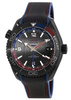 Omega Seamaster Planet Ocean 600M 45.5mm Co-Axial Master Chronometer ETNZ Deep Black Men's Watch 215.92.46.22.01.004
