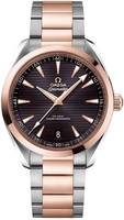 Omega Seamaster Aqua Terra 150m Master Co-Axial 41MM Steel And Rose Gold Men's Watch 220.20.41.21.06.001