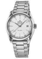 Omega Seamaster Aqua Terra Quartz 38.5mm 150M Silver Dial Steel Men's Watch 231.10.39.60.02.001