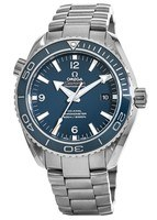 Omega Seamaster Planet Ocean 600M 46mm Titanium Chronometer Blue Dial Men's Watch 232.90.46.21.03.001