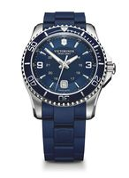 Victorinox Swiss Army Maverick Large Navy Dial Rubber Strap Men's Watch 241603
