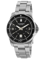 Victorinox Swiss Army Maverick  Black Dial Stainless Steel Men's Watch 241697