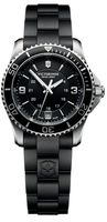 Victorinox Swiss Army Maverick  Black Dial Black Rubber Women's Watch 241702