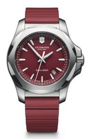 Victorinox Swiss Army   I.N.O.X. Red Dial Red Rubber Men's Watch 241719.1