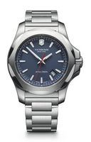 Victorinox Swiss Army   I.N.O.X. Blue Dial Stainless Steel Men's Watch 241724.1