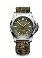 Victorinox Swiss Army I.N.O.X. Paracord  Green Fabric Men's Watch 241727