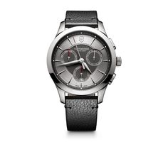 Victorinox Swiss Army Alliance  Silver Chronograph Men's Watch 241748
