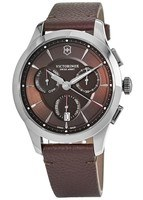 Victorinox Swiss Army Alliance  Brown Chronograph Men's Watch 241749