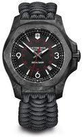 Victorinox Swiss Army I.N.O.X. Carbon  Naimakka Paracord Bracelet + Rubber Strap Men's Watch 241776