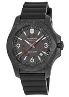 Victorinox Swiss Army I.N.O.X. Carbon  Black Rubber Strap Men's Watch 241777
