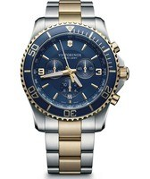Victorinox Swiss Army Maverick Chronograph Blue Dial Men's Watch 241791