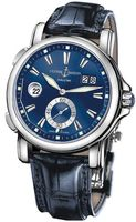 Ulysse Nardin GMT Big Date 42mm  Men's Watch 243-55/93