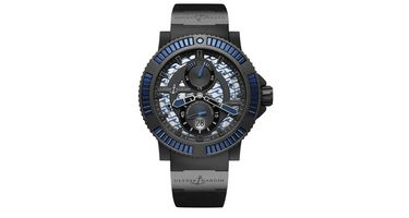 Ulysse Nardin Diver Black Sea  Men's Watch 263-92B3-3C/923