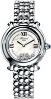 Chopard Happy Sport Classic Round 7 Floating Diamonds  Women's Watch 278236-3016