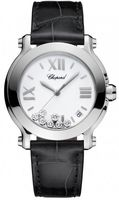 Chopard Happy Sport Round 36mm  Women's Watch 278475-3001 black
