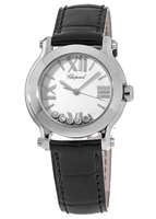 Chopard Happy Sport Mini 30mm Floating Diamonds Women's Watch 278509-3001