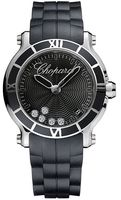 Chopard Happy Sport Round 36mm  Women's Watch 278551-3002
