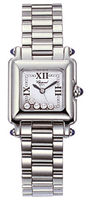 Chopard Happy Sport Classic Square 5 Floating Diamonds  Women's Watch 278893-3006