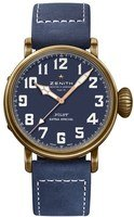 Zenith Pilot Type 20 Extra Special Blue Dial Blue Leather Men's Watch 29.2430.679/57.C808