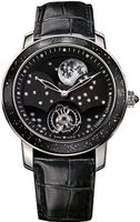 Graham Geo.Graham The Moon Limited Edition Black Dial Black Leather Strap Men's Watch 2GGAW.B01A.C154Y