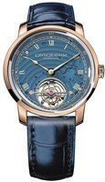 Graham Geo.Graham Tourbillon Limited Edition Blue Dial Blue Leather Strap Men's Watch 2GGCP.U02A