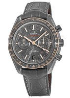 Omega Speedmaster Moonwatch Co-Axial Chronograph Grey Side of the Moon Meteorite Ceramic Men's Watch 311.63.44.51.99.001
