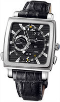 Ulysse Nardin Quadrato Dual Time Perpetual  Men's Watch 320-90/92