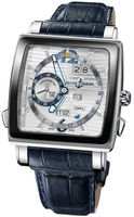Ulysse Nardin Quadrato Dual Time Perpetual  Men's Watch 320-90CER/91