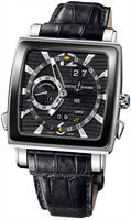 Ulysse Nardin Quadrato Dual Time Perpetual  Men's Watch 320-90CER/92