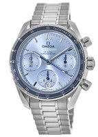 Omega Speedmaster Co-Axial Chronograph 38mm Grey Dial Stainless Steel Unisex Watch 324.30.38.50.03.001