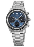 Omega Speedmaster Racing Chronometer Automatic Blue Dial Chronograph Stainless Steel Men's Watch 326.30.40.50.03.001