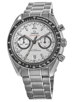 Omega Speedmaster Racing Chronometer White Dial Stainless Steel Men's Watch 329.30.44.51.04.001