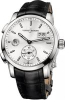 Ulysse Nardin Dual Time Manufacture 42mm  Men's Watch 3343-126/91