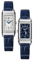 Jaeger Lecoultre Reverso One Duetto Moon Ladies Women's Watch 3358420