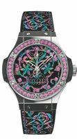 Hublot Big Bang Broderie Limited Edition Sugar Skull Steel Unisex Watch 343.SS.6599.NR.1233