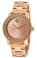 Movado Bold  Rose Gold Tone Unisex Watch 3600086