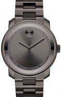 Movado Bold  Gunmetal Gray Steel Men's Watch 3600259